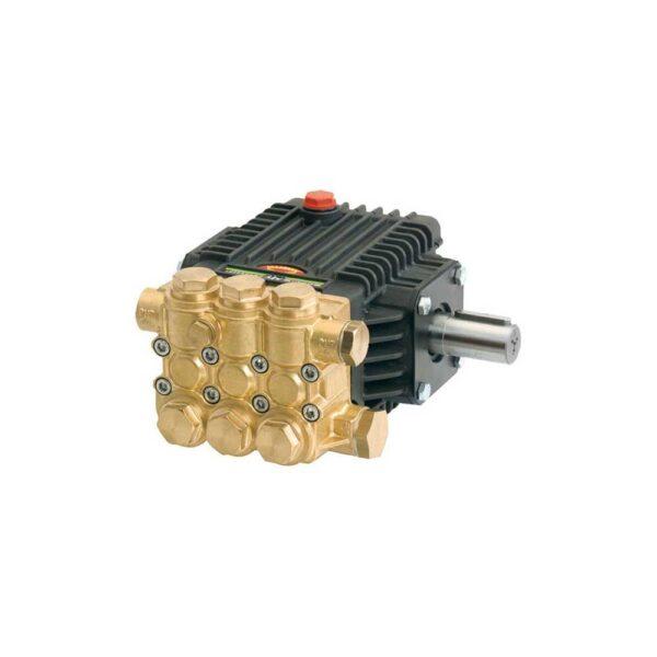 General Pump Pump, Triplex, 3GPM@3000PSI, 1750 RPM, 24mm Solid Shaft