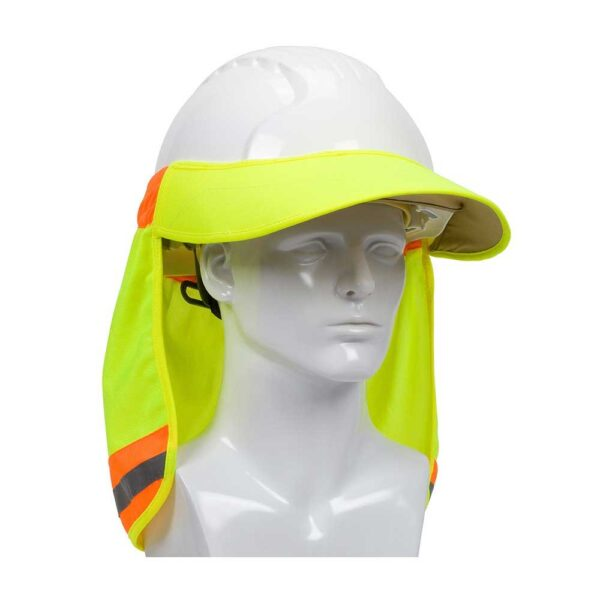 PIP L Hi-Vis Hard Hat Visor and Neck Shade