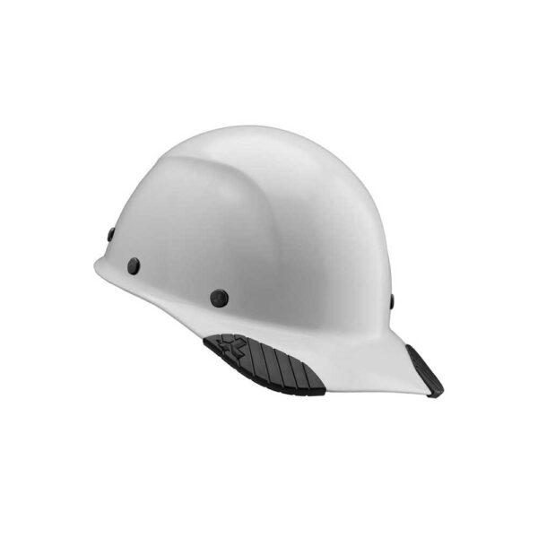 Lift Safety (White) DAX Fiber Resin Cap Brim