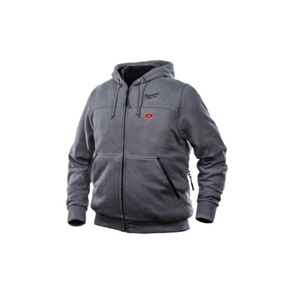 Milwaukee M12™ Gray Heated Hoodie Kit, X-Large
