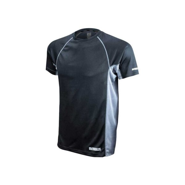 DEWALT (XL / Black) Non-Rated Two Tone Performance T-shirt