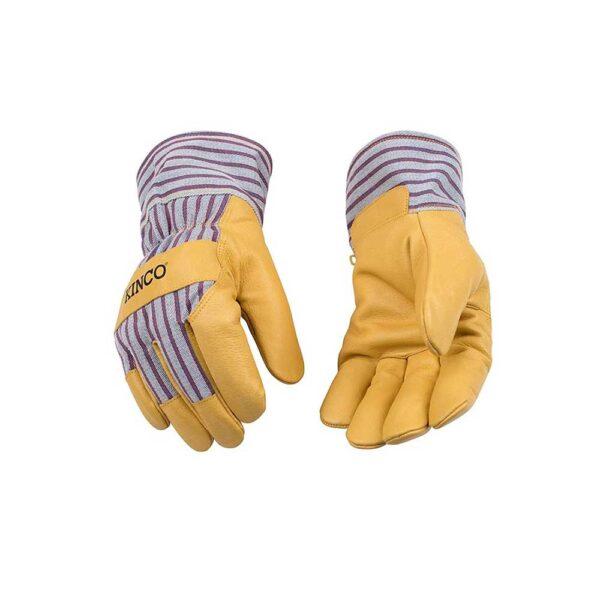 Kinco Large Grain Pigskin Work Gloves, Size X-Large