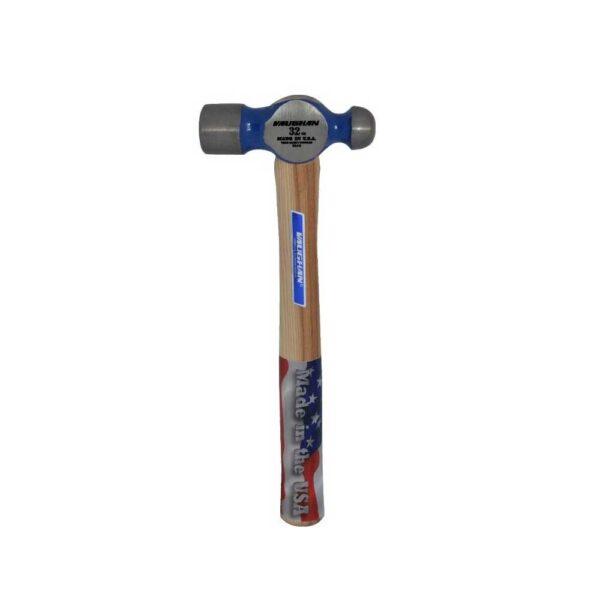 Vaughan oz. Ball Pein Hammer (15-3/4 Hickory Handle)