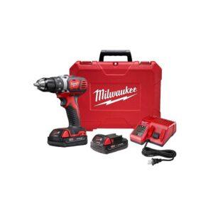 Milwaukee M18 18V Cordless Compact 1/2 Drill Driver Kit