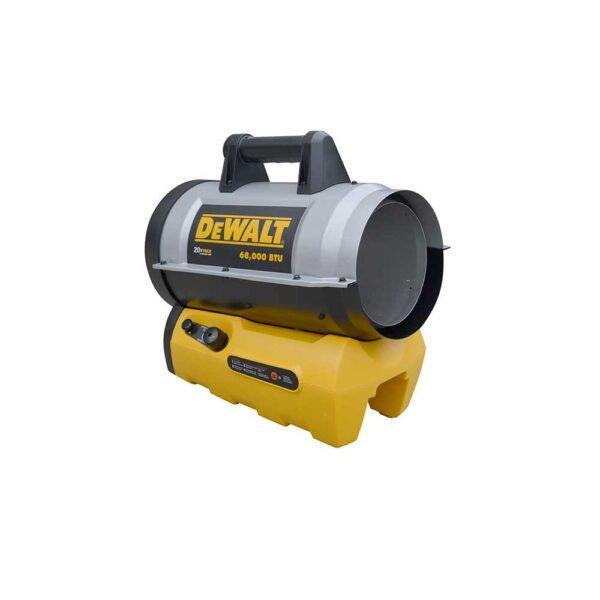 DEWALT 68,000 BTU Cordless Forced Air Propane Heater (Bare Tool)
