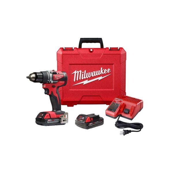 Milwaukee M12 12V Lithium-Ion Sub-Compact 1/4 Driver Drill Kit